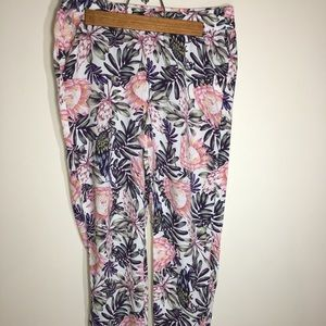 DIVIDED by H&M Floral pants